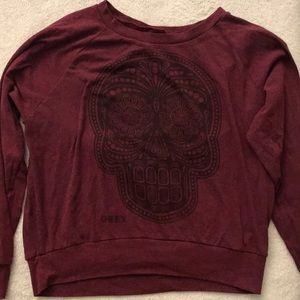 Obey Tops - Red obey sweater